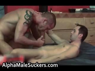 Precedent-setting hardcore gay fucking increased by sucking
