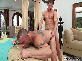 Stud gets dick sucked during knead part6