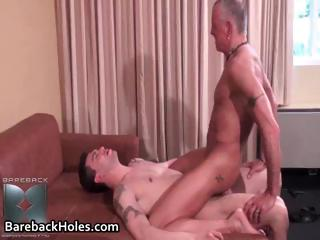 Saleable gay bareback going to bed plus cock part1