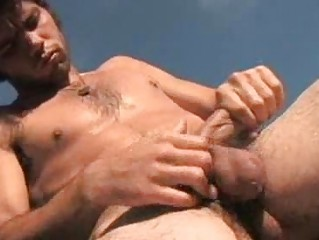 Hairy Dude Jimmy Trips Wild Outdoor Jerkoff