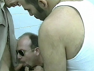 Hard assed jail warden Paul Carrigan enjoys harassing his prisoners....