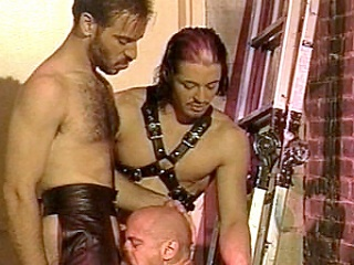 Enjoy adhering Kyle and Scott, leather-clad gay bodybuilders go crazy...