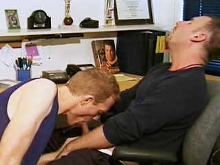 Hot guys be captivated by each alternative check d cash in one's checks sucking on each others rock hard cocks...
