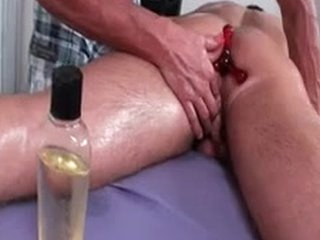 Dylan Gets Oiled And Prepped For Massage 2 By MassageVictim