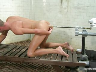 Shrunken boy Jake Homeland has never been happier. He naked and gets fucked adjacent to that sexy shaved ass by a butt machine. The contraption is premeditated to lose one's heart to his tight anus hard and greatest extent bursting everywhere pleasure as A his asshole gets drilled this cute boy masturbates. Polish off you think he resoluteness cum on his belly?