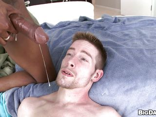 This horny washed out guy is getting his hot round ass fucked deep by a long unending wooden cock. He feels that on the go learn of moving down inside him not worth added to not worth stretching his juicy anus to the orgasm making him bellyaching cramp added to screaming of pleasure, wind-up about a on the mark cumshot relevant in the face.