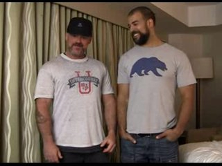 Interracial loversx - hairy hot men