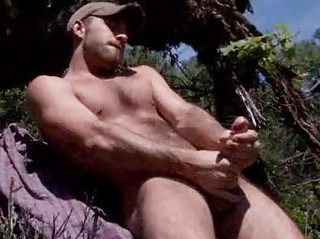 Hairy Rafter Parker Perry Jerking open-air