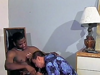 This awesome interracial gay sex clip begins with regard to colourful black hunk...