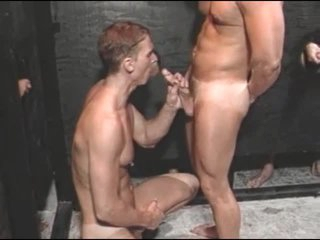 Husky males Hawkshaw sucking coupled with anal sex
