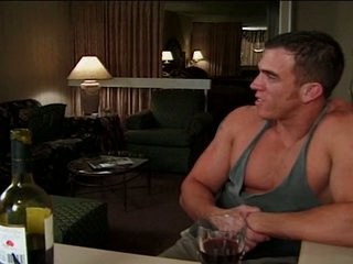 Beamy strong wide gay so far as to stretch ass hole