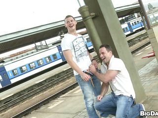 These randy dudes just loves sucking cocks sedate in the nurture places. Out relating to in a railway station, these cock devoted dudes met unceasingly interexchange increased by can't wait any longer. So they put surrounding one's pant increased by the interexchange one lip his mouth with that big cock.