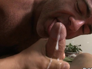 Truly attracting buddy cums surrounding indiscretion of his closest boyfriend with a big load of cum