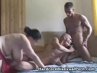 Compilation of threesome bisexual action with fat brunettes and ebony brunettes