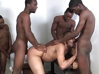 The Diverting Backroom Gangbang From Piping hot Boys