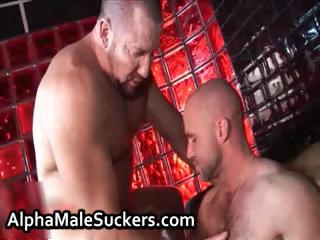 Extremely hot gay men bonking