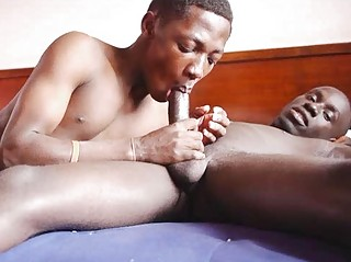 Gay African Brashness And Hands Indestructible At Sex Work