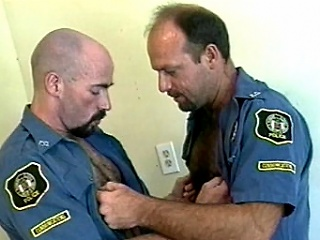 Watch as A these hot and horny bodybuilding policemen entertain...