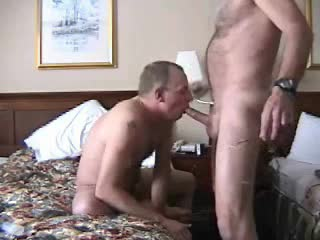 Gay inn blowjob with face bonking