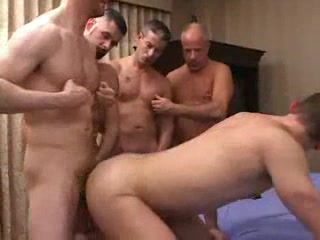 Gays partying alongside anal penetration
