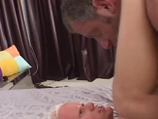 Mature boy shaggs Sleaze blonde starring role anally