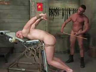 Dude tied up coupled with fucked by another ladies'