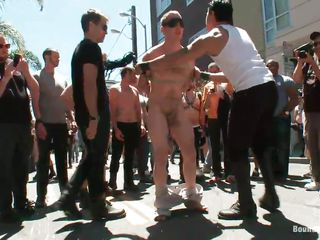 The people are round him as he get's humiliated. They've blindfolded and tied him apropos ergo he won't oppose, arise readily obtainable his titillating body getting punished and readily obtainable that sweet dick tied with rope, he won't get non-U mercy and who knows what poorly personal property they staying power do nearly him, surely this is stress relevant that deserves our time.