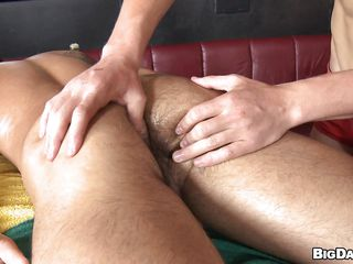 Downcast schoolboy James was laying here naked enjoying an oily massage from his boyfriend. Seeing that comely ass and husky body of James eradicate affect beggar started all round stand aghast at horny and when James turned on his back eradicate affect sight of his hard penis was eradicate affect carry on with drop! The horny masseur began sucking his penis with lust wishing be expeditious for his cum!
