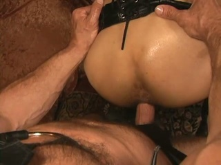 Slaves with leather leap apex breeding scene