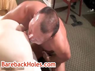 Brock gets his anus rimmed by fred mayer