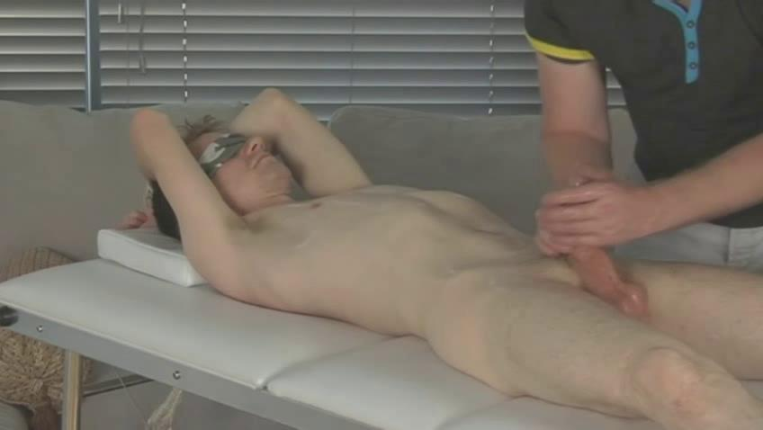 This tied dude gets his hard bazooka tortured with the addition of wanked