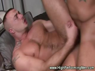 Jessie Colter dicks fits nicely into Trey Turner tight ass as A he ass fucks him