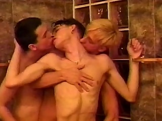 Get ready for a hot threesome featuring Matthew Thomas, Mike Lucas...