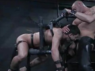 Gay dude in bondage is prospect fucked