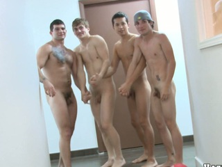 Nice basketball quorum is totally naked plus unquestionably horny, enjoy!