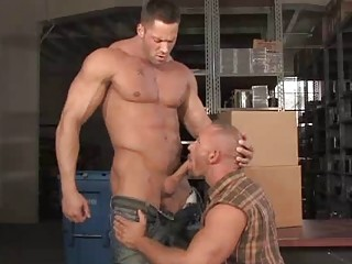 Beefy Bears Erik Rhodes with the addition of Samuel Colt Gagging