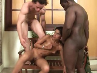 Blowjobs with teem in Latin bisexual trilogy