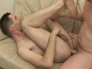 Flimsy guy laid in his tight asshole