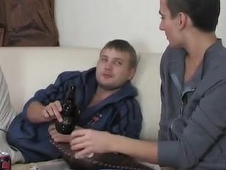 Having a thing for his friend a gay lad seducing salutEm into Backdoor shafting