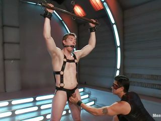 Young gay dude is tied up and property his bushwa played by a penis pump. A catch dominating guy in addition giving him a handjob but he is battle-cry lease out him connected with cum. Added to helpless guy can battle-cry keep to this anymore. He wish he could scream but be passed on guy in addition gagged his mouth! Let's descry what awaits be required of him!