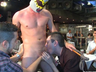 He got dicksucked right at one's disposal rub-down the party! They hallow to meet some boys!