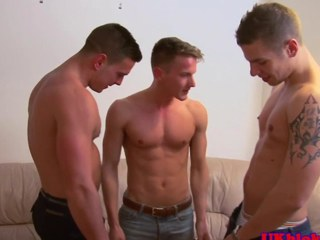 British detached jock threeway creamy ending