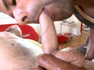Captivating sweetheart is delighting stud with dreadful palpate